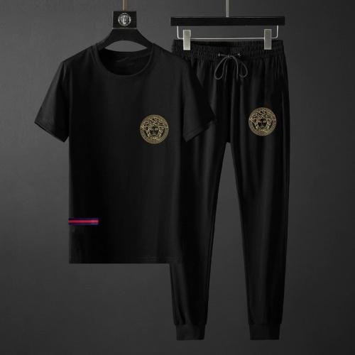 Versace Tracksuits Short Sleeved O-Neck For Men #764813