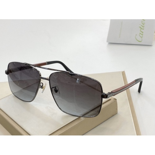 Cartier AAA Quality Sunglasses #764830
