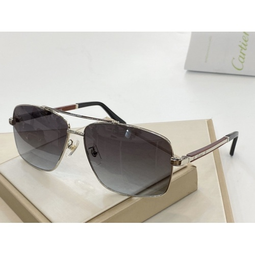 Cartier AAA Quality Sunglasses #764831