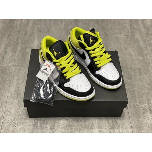 Air Jordan 1 Low Green For Men #764887