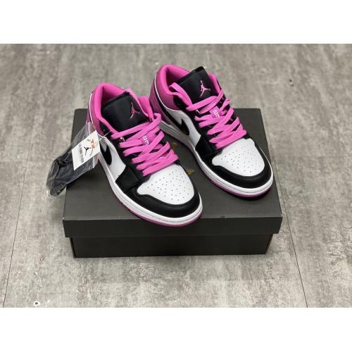 Air Jordan 1 Low Magenta For Men #764889