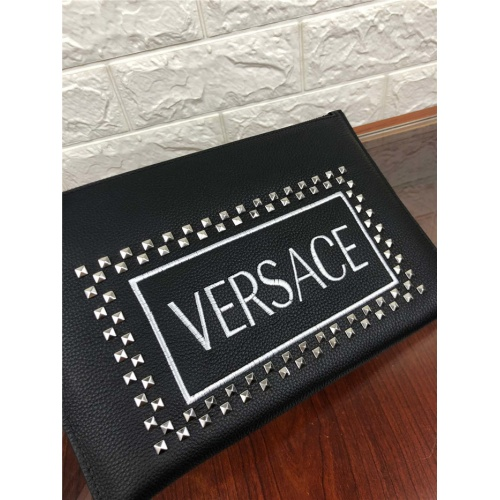 Replica Versace AAA Man Wallets For Men #765160 $66.93 USD for Wholesale
