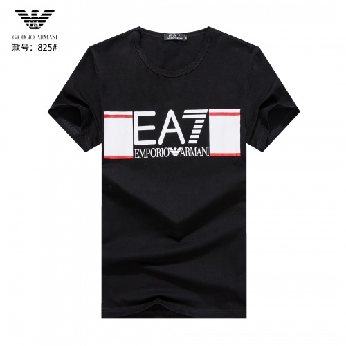Armani T-Shirts Short Sleeved O-Neck For Men #765311