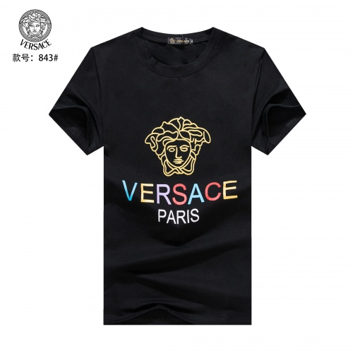 Versace T-Shirts Short Sleeved O-Neck For Men #765318