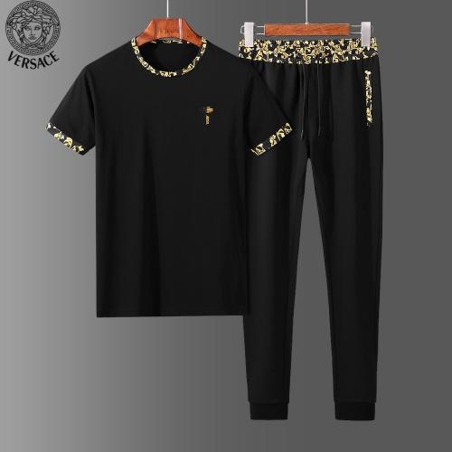 Versace Tracksuits Short Sleeved O-Neck For Men #765358