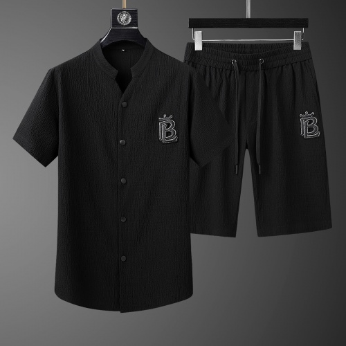 Burberry Tracksuits Short Sleeved For Men #765431 $73.72, Wholesale Replica Burberry Tracksuits