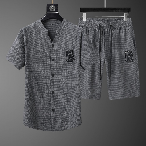 Burberry Tracksuits Short Sleeved For Men #765432 $73.72 USD, Wholesale Replica Burberry Tracksuits