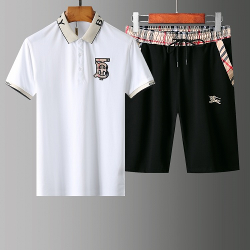 Burberry Tracksuits Short Sleeved Polo For Men #765458