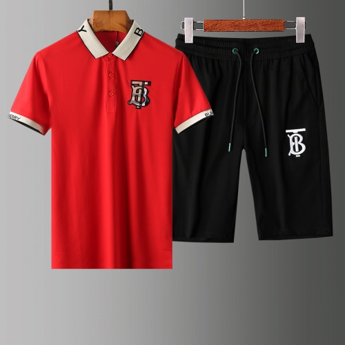Burberry Tracksuits Short Sleeved Polo For Men #765467