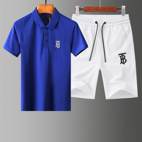 Burberry Tracksuits Short Sleeved Polo For Men #765486