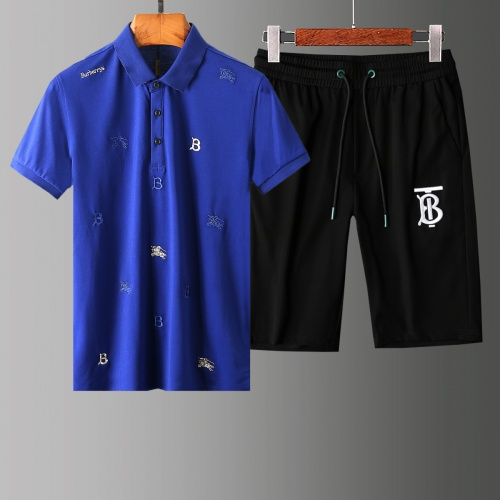 Burberry Tracksuits Short Sleeved Polo For Men #765509