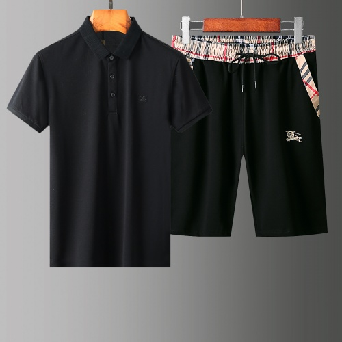 Burberry Tracksuits Short Sleeved Polo For Men #765523