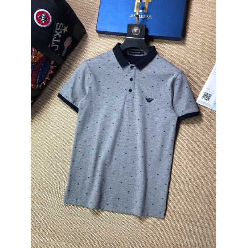 Armani T-Shirts Short Sleeved Polo For Men #765576