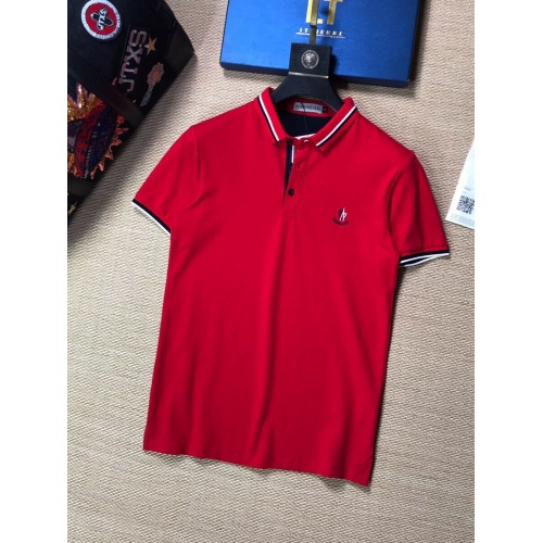 Moncler T-Shirts Short Sleeved Polo For Men #765605