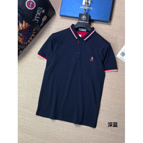 Moncler T-Shirts Short Sleeved Polo For Men #765609