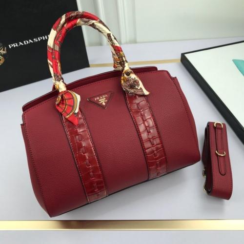 Prada AAA Quality Handbags For Women #765769