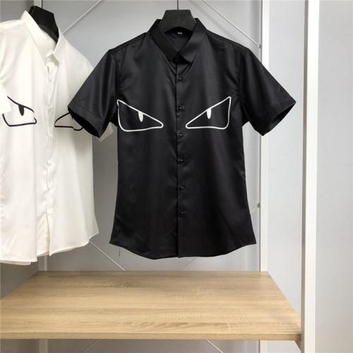 Fendi Shirts Short Sleeved Polo For Men #766087