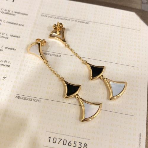 Bvlgari Earrings #766169 $38.80, Wholesale Replica Bvlgari Earrings
