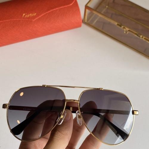 Cartier AAA Quality Sunglasses #766195