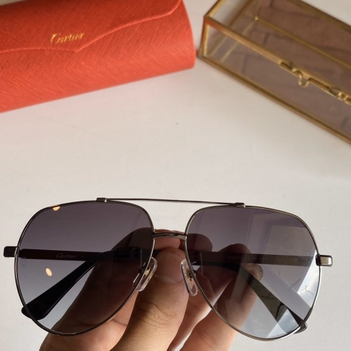Cartier AAA Quality Sunglasses #766198