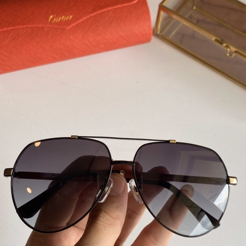Cartier AAA Quality Sunglasses #766199