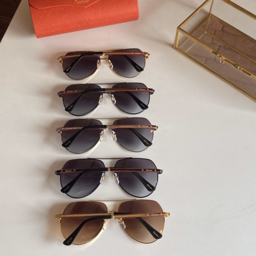 Replica Cartier AAA Quality Sunglasses #766199 $59.17 USD for Wholesale