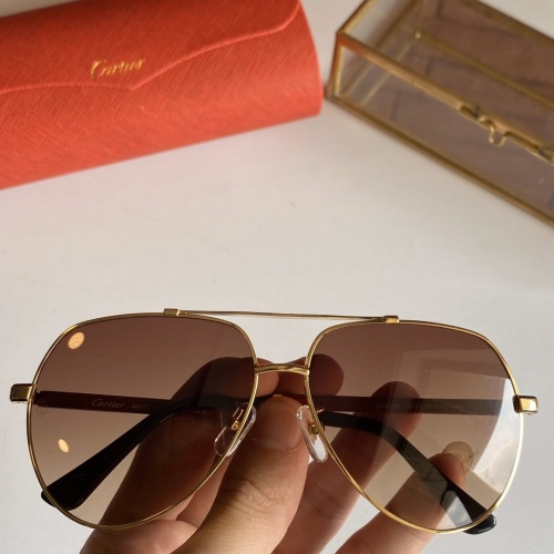 Cartier AAA Quality Sunglasses #766200