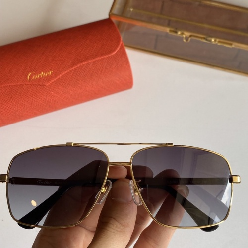 Cartier AAA Quality Sunglasses #766201