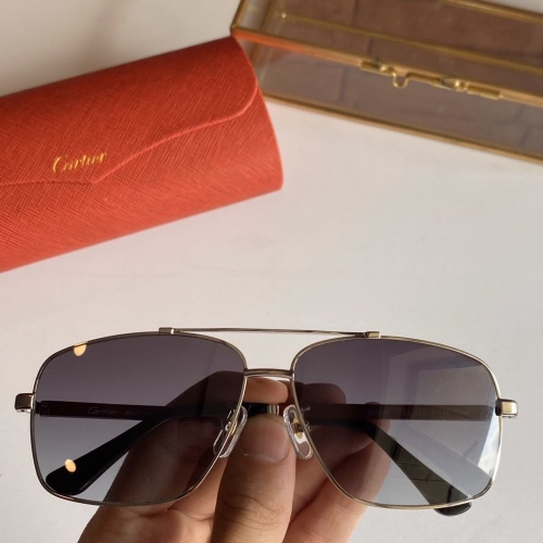 Cartier AAA Quality Sunglasses #766202