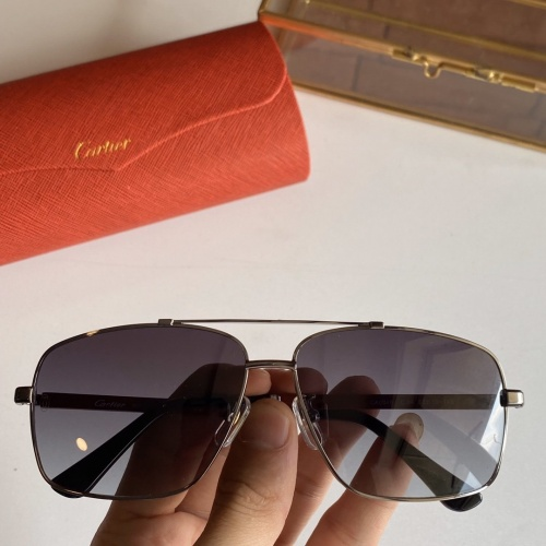 Cartier AAA Quality Sunglasses #766205