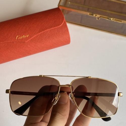 Cartier AAA Quality Sunglasses #766207
