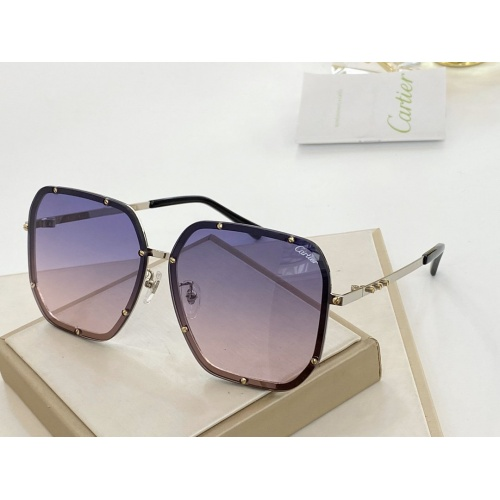 Cartier AAA Quality Sunglasses #766345