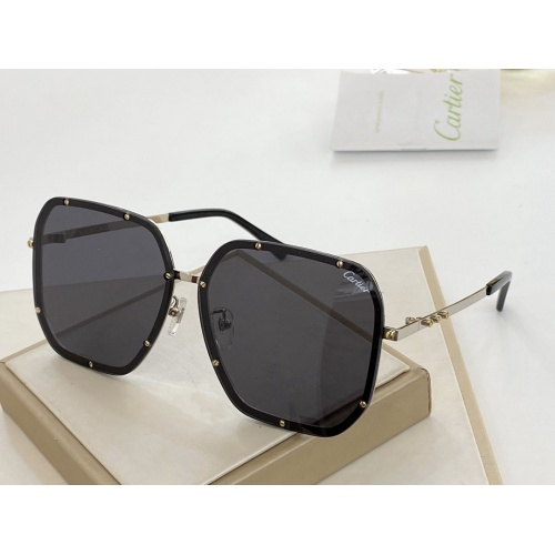 Cartier AAA Quality Sunglasses #766346
