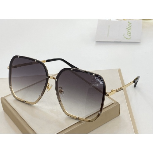 Cartier AAA Quality Sunglasses #766347