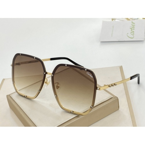 Cartier AAA Quality Sunglasses #766349