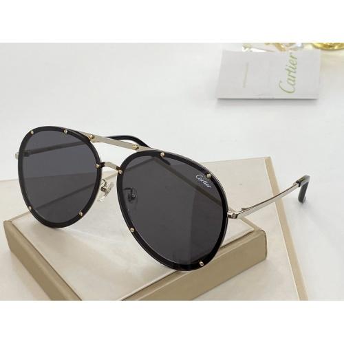 Cartier AAA Quality Sunglasses #766350