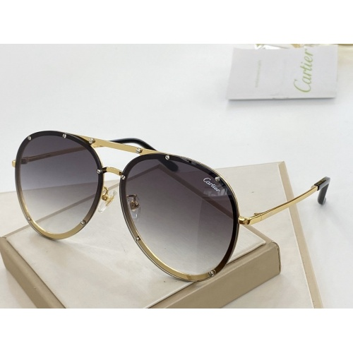 Cartier AAA Quality Sunglasses #766351