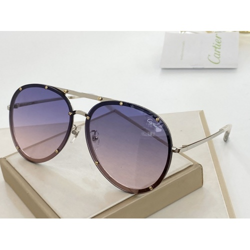 Cartier AAA Quality Sunglasses #766354
