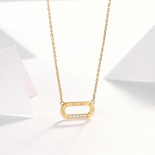 Cartier Necklaces #766631 $34.92 USD, Wholesale Replica Cartier Necklaces