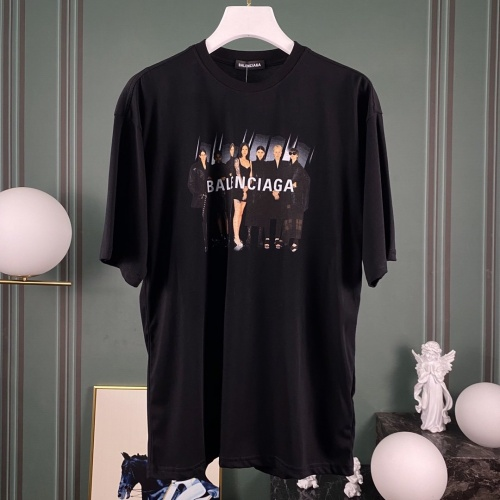 Balenciaga T-Shirts Short Sleeved O-Neck For Men #766726