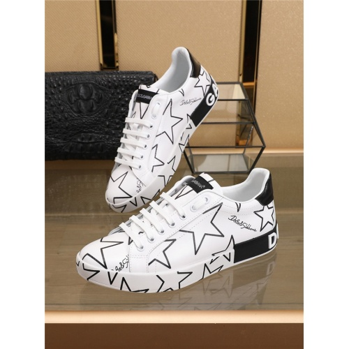Dolce & Gabbana D&G Casual Shoes For Men #767133