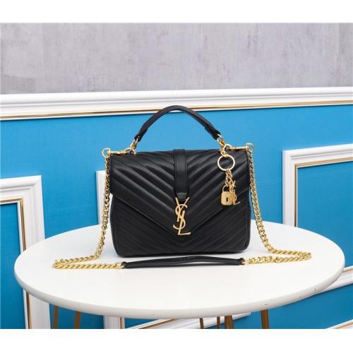 Yves Saint Laurent YSL AAA Quality Messenger Bags For Women #767248 $96.03 USD, Wholesale Replica Yves Saint Laurent YSL AAA Messenger Bags