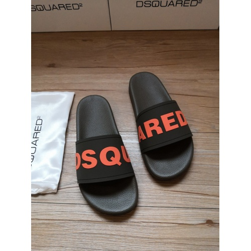 Dsquared Slippers For Men #767458