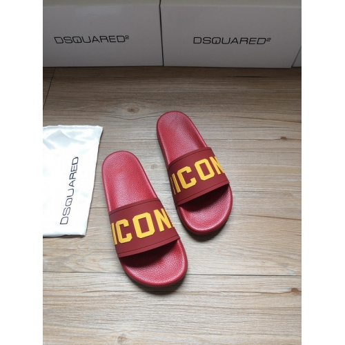 Dsquared Slippers For Men #767470