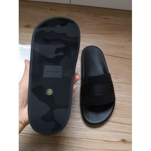 Replica Dsquared Slippers For Men #767500 $40.74 USD for Wholesale