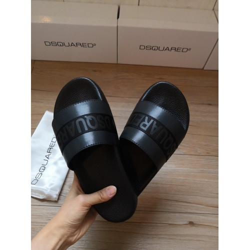 Replica Dsquared Slippers For Women #767501 $39.77 USD for Wholesale