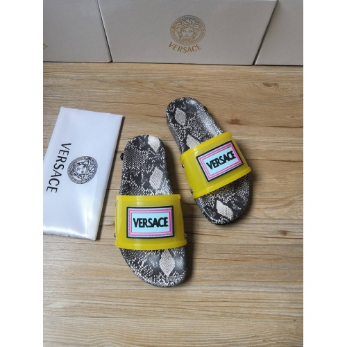 Replica Versace Slippers For Men #767506 $43.65 USD for Wholesale