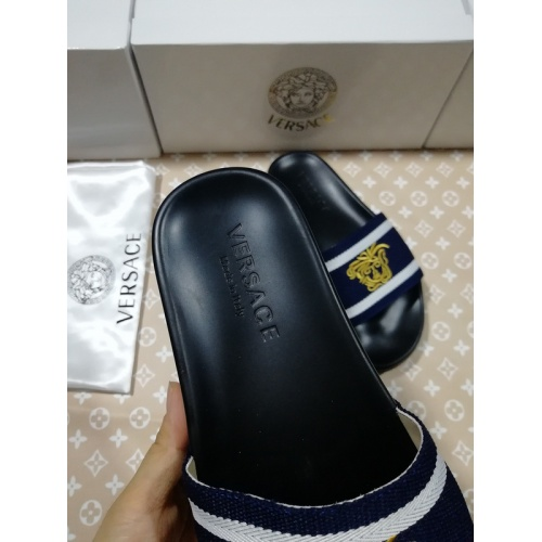 Replica Versace Slippers For Men #767514 $41.71 USD for Wholesale