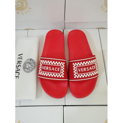 Versace Slippers For Men #767518 $41.71, Wholesale Replica Versace Slippers