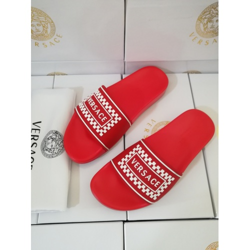 Replica Versace Slippers For Men #767518 $41.71 USD for Wholesale